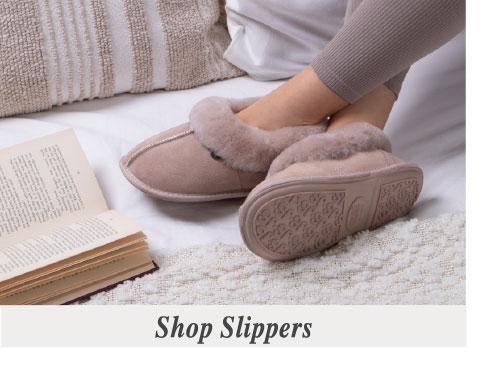 f617ce1e750 Ladies Sheepskin Slippers   Boots