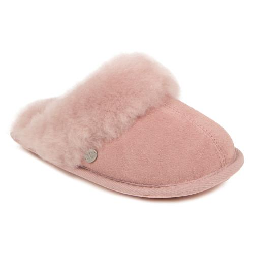 Girls Mini Duchess Sheepskin Slippers  Rose