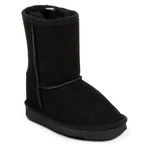 Childrens Classic Sheepskin Boots Black