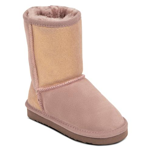 Childrens Classic Sheepskin Boot Blush Sparkle