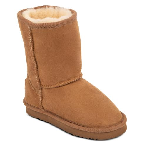 Childrens Classic Sheepskin Boots Chestnut