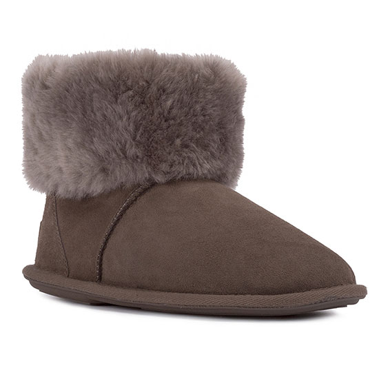 Ladies Albery Sheepskin Slippers Mink