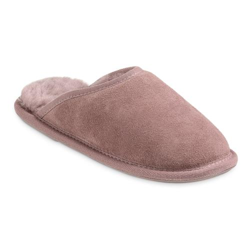 Ladies Shaftsbury Sheepskin Slippers Blush