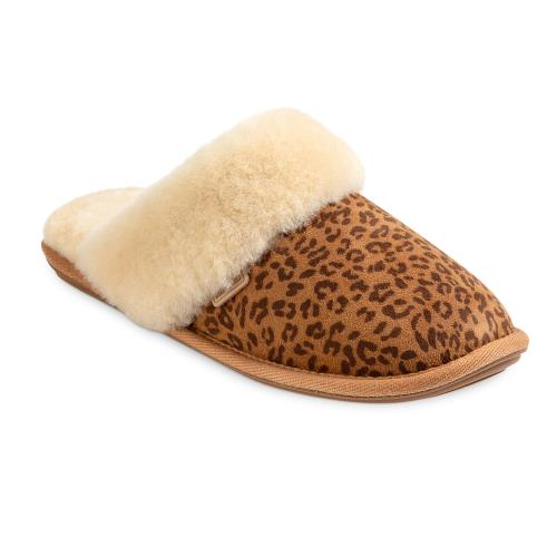 Ladies Duchess Sheepskin Slippers  Animal