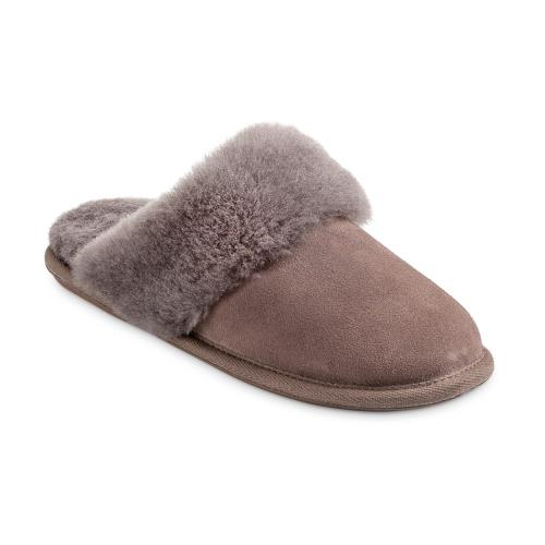 Ladies Duchess Sheepskin Slippers  Mink