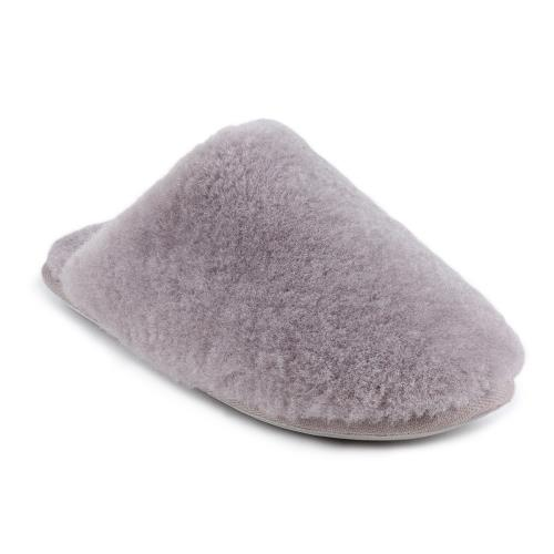 Ladies Wooly Sheepskin Slippers Dove