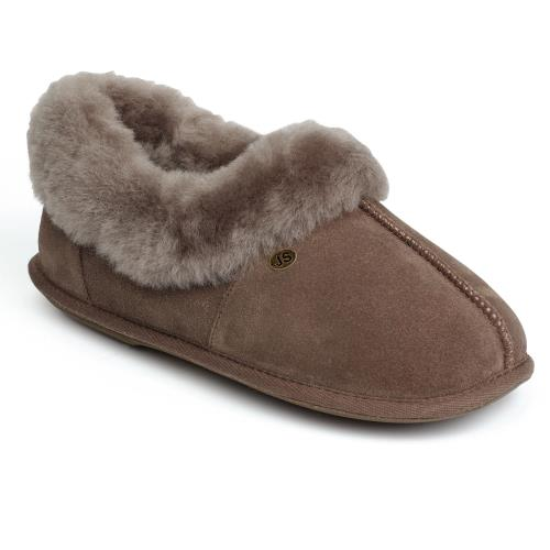 Ladies Classic Sheepskin Slippers Mink