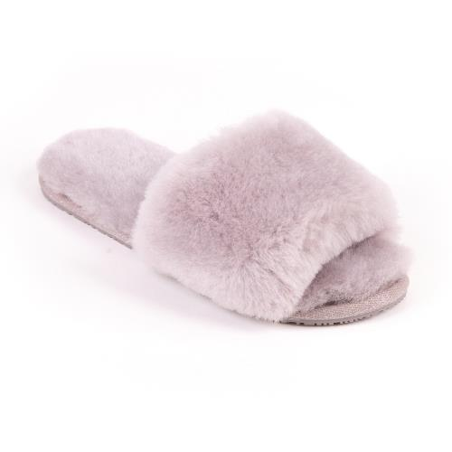 Ladies Lily Sheepskin Sliders Dove