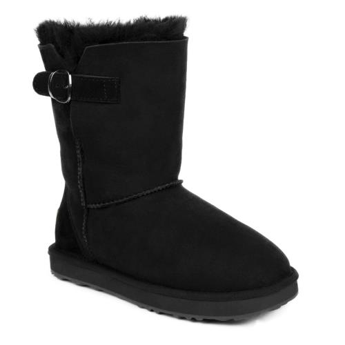 Ladies Surrey Sheepskin Boots Black