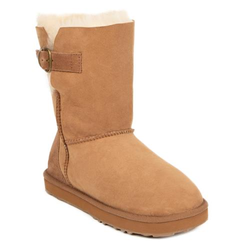 Ladies Surrey Sheepskin Boots Chestnut