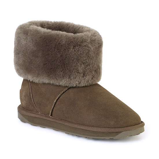 Ladies Cornwall Sheepskin Boots Mink