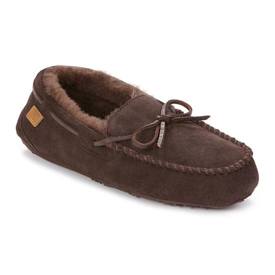 Mens Torrington Sheepskin Slippers Chocolate UK Size 8