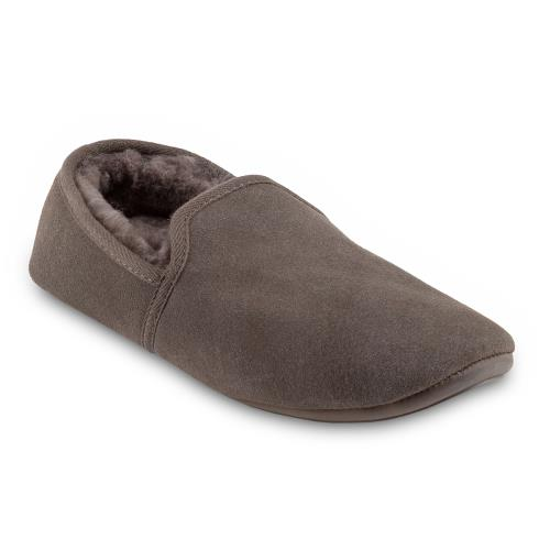 Mens Garrick Sheepskin Slippers Mocha