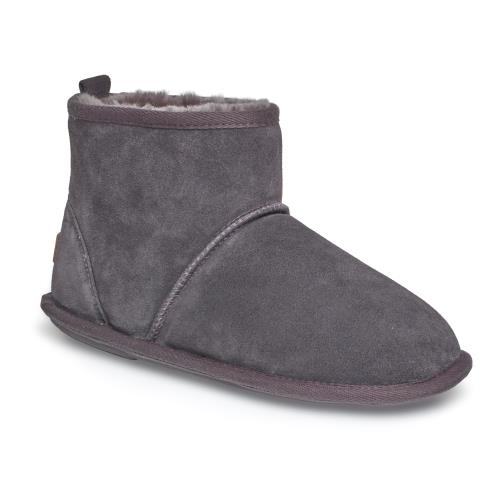 Mens Chester Sheepskin Slippers Granite