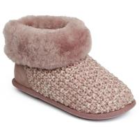 Ladies Butterfield Sheepskin Slippers