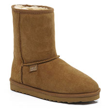 Ladies Short Classic Sheepskin Boots