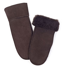 Ladies Chapman Sheepskin Mittens