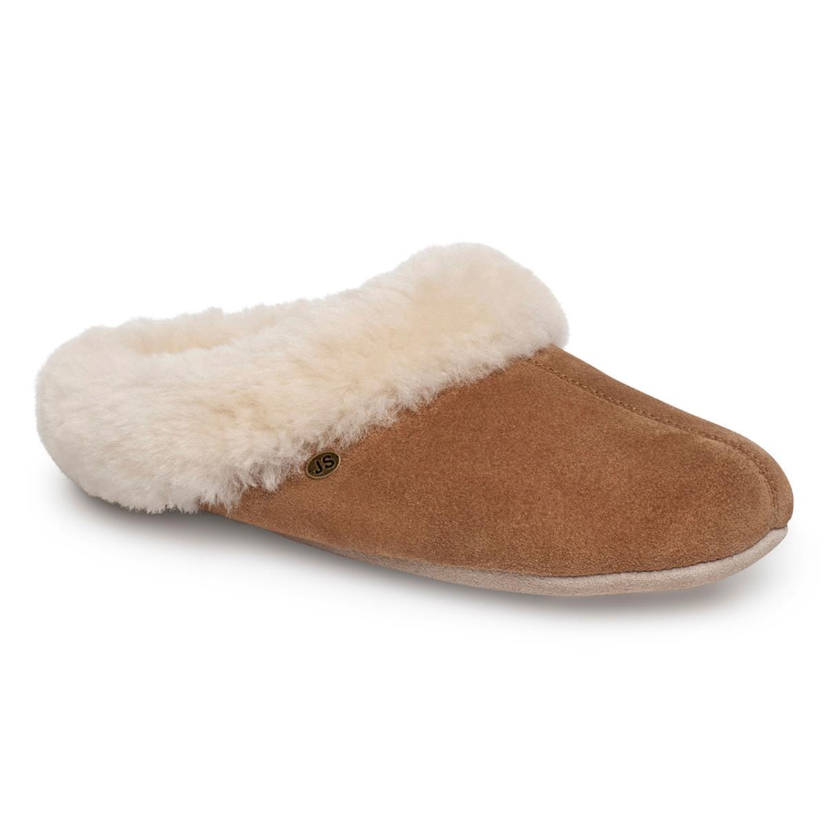 how to make sheepskin slippers
