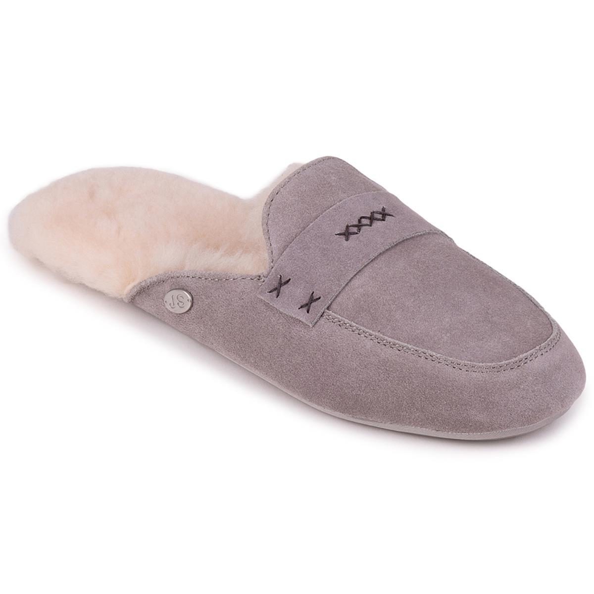 1610e77284ce Ladies Helena Sheepskin Slider Dove