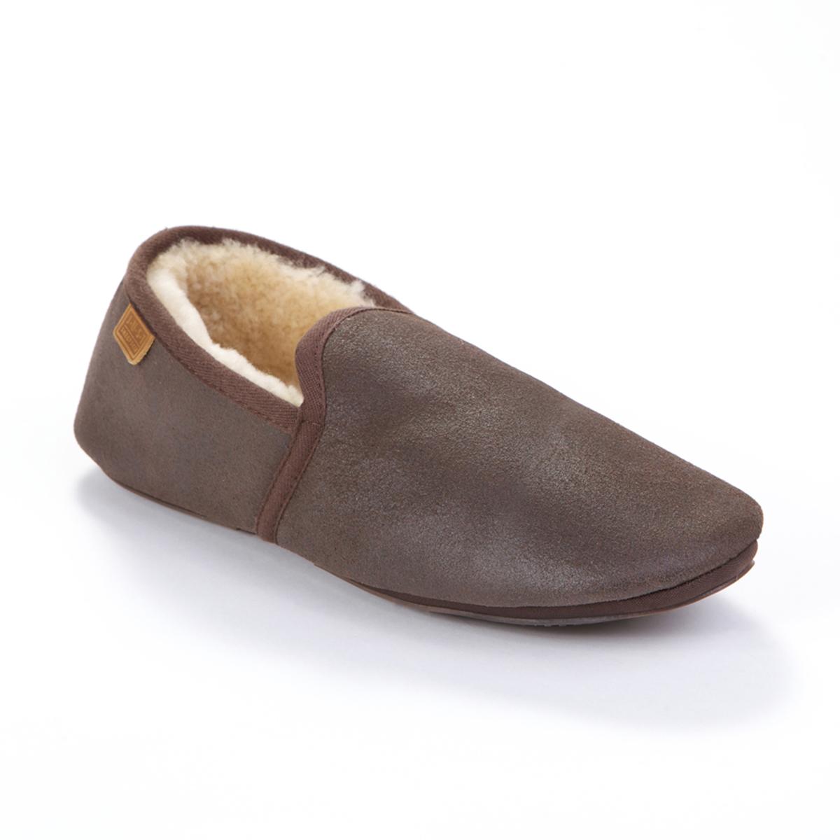mens garrick sheepskin slippers just sheepskin slippers
