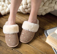 Ladies Sheepskin Slippers & Boots